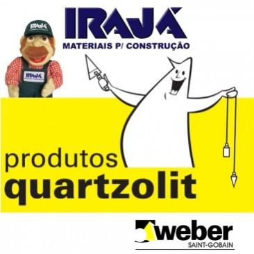 No IRAJÁ tem Weber Quartzolit